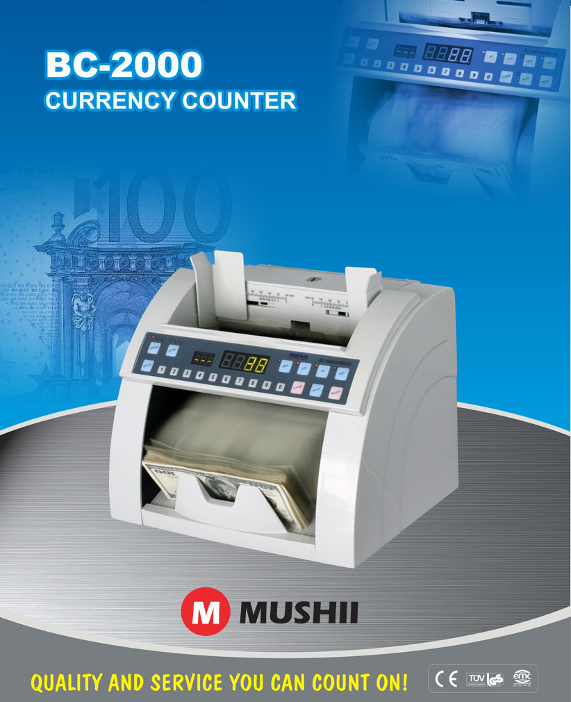 Mushii C-2000 Money counter